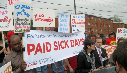 Connecticut becomes first state to require paid sick days