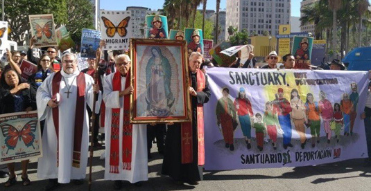 L.A. faith-based leaders arrested in protest against deportations