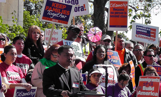 Union leaders: Time is now for immigration reform