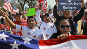 Immigration advocates lobby Congress, despite shutdown