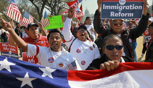 Immigration advocates lobby Congress, despite shutdown