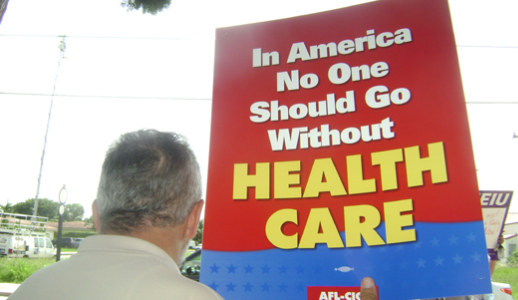 Labor movement pressing for action on health reform