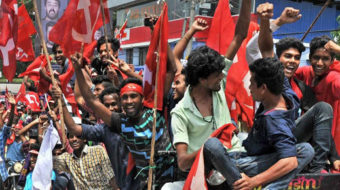 """Red Spring"" for the left in India's Kerala state"