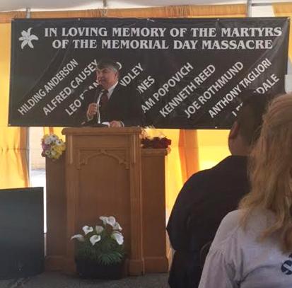 Memorial Day massacre commemoration inspires Midwest steelworkers