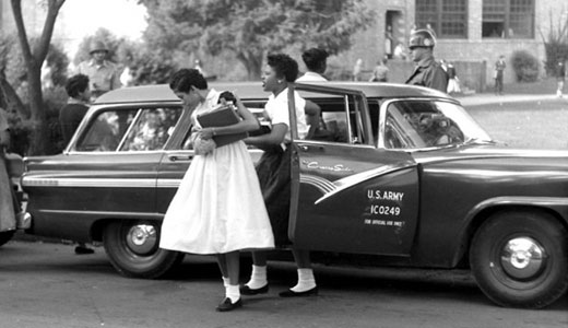 Today in labor history: Eisenhower enforces racial integration in Little Rock