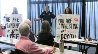 Students, community protest Utah tar sands conference