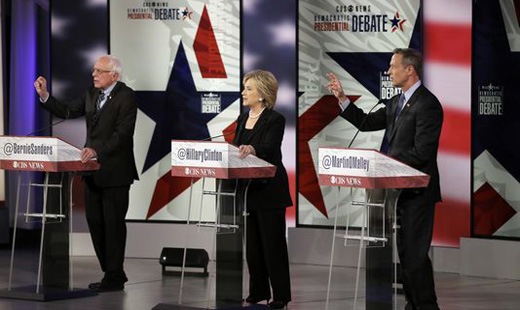 "Democratic candidates agree: Wall Street must be ""reined in"""