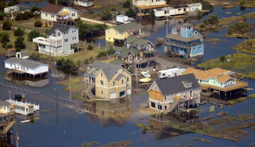 Tea party tries to stop hurricane cleanup