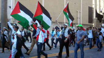 Floridians rally to end occupation of Gaza