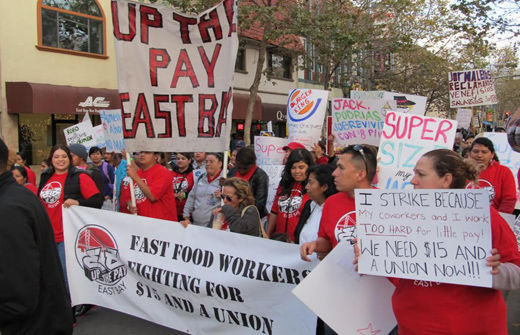 California low wage workers on the move