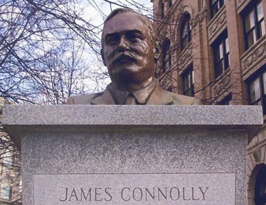 Celebrating the life of James Connolly in Troy, New York