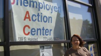 Chicago unemployment activist's message of hope