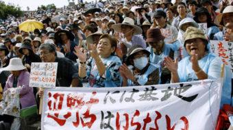 Japan public opinion prevented hasty settlement of Futenma