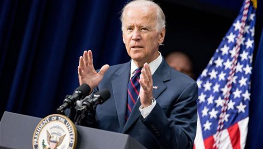 Biden not running for president, but vows to fight for justice