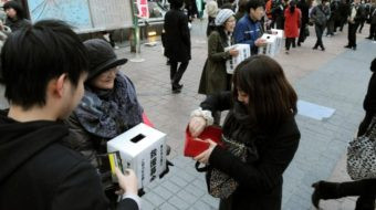Japanese Communists mobilize support for quake victims