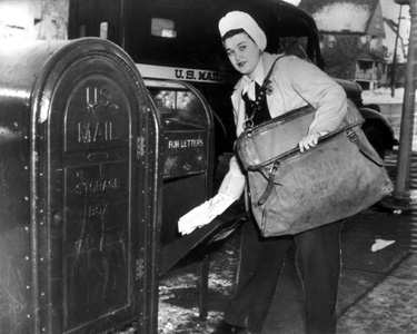 Celebrating my fellow women postal workers