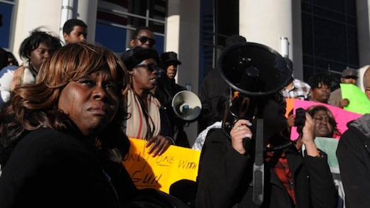 Demonstrators demand justice for Jordan Davis