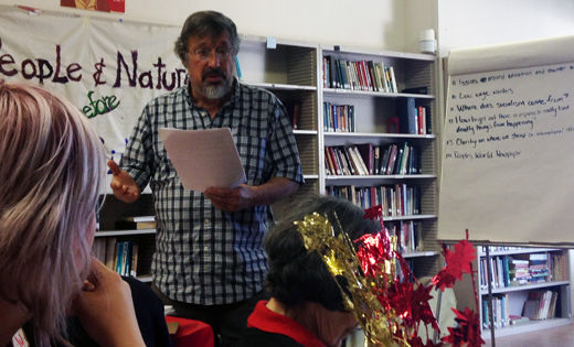 N. Calif. CPUSA convention debates environment, racism, 2014 elections