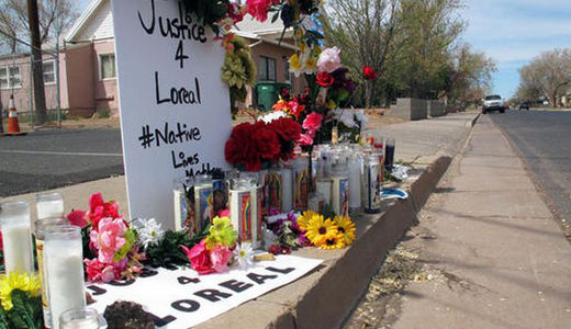 Horrific police killing of young Navajo mother Loreal Tsingine