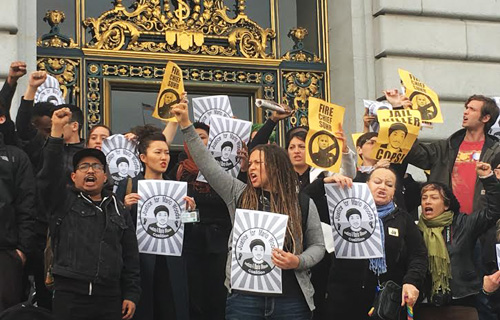 Justice for Mario Woods to San Francisco Mayor: Fire police chief