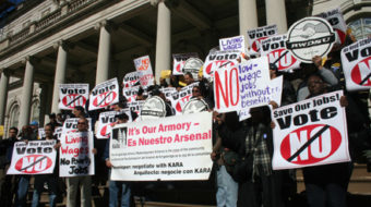 A Bronx cheer for anti-union development deal