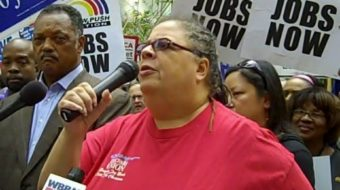 """We're fighting for our jobs,"" Chicagoans declare"