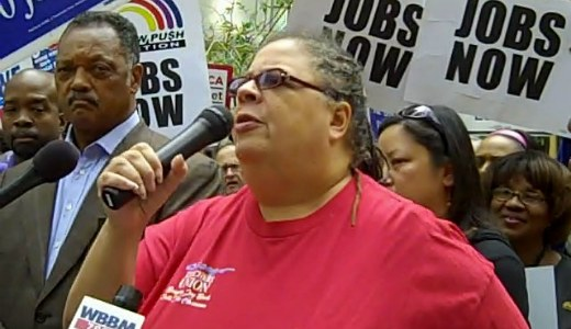 """""""We're fighting for our jobs,"""" Chicagoans declare"""