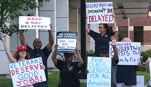 Postal unions plan national protests vs. closings