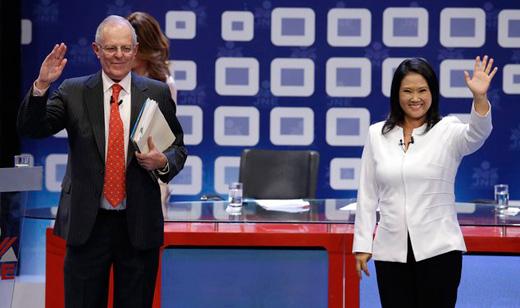 Peruvian presidential runoff: A squeaker
