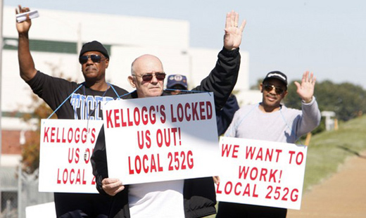 Judge orders Kellogg's to take locked out workers back