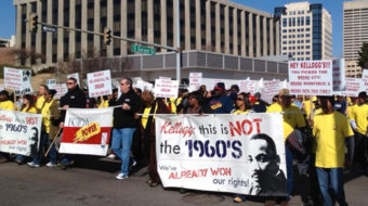 NLRB heads to court to stop Kellogg's lockout of Memphis workers