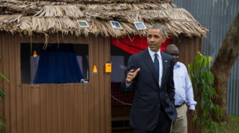 Kenyans and Ethiopians welcome Obama with open arms