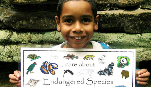 Attention humans: Today is Endangered Species Day