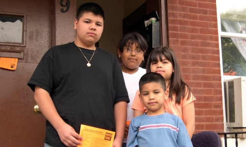 What happens to children after parents are detained and deported?
