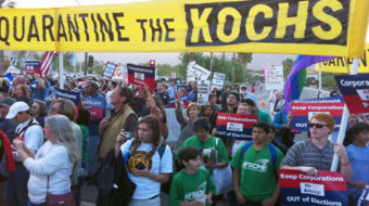 Koch Brothers try to kill California unions
