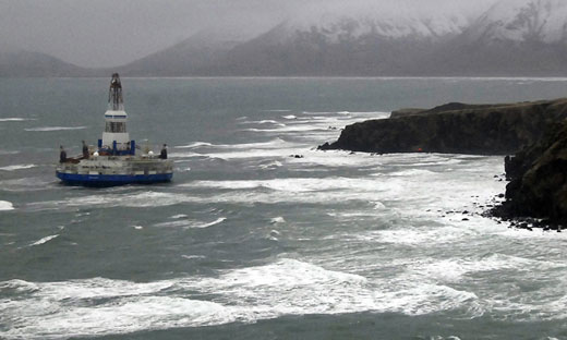 Shell to resume Arctic drilling, gives safety cold shoulder