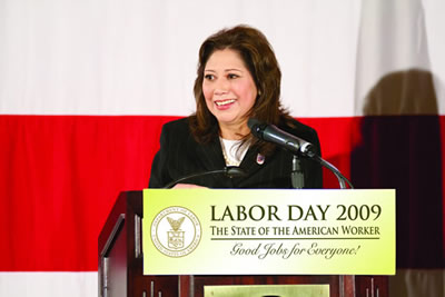 For Hilda Solis, workplace safety more than a slogan