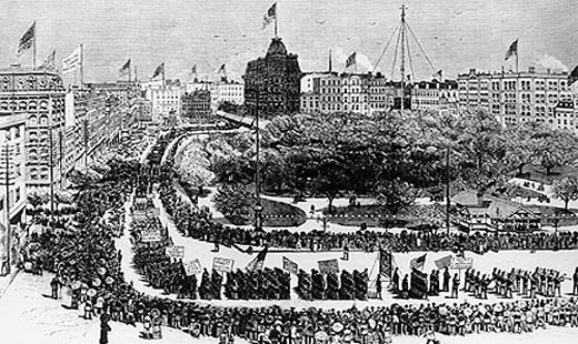 Today in labor history: New York's first Labor Day parade