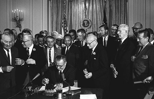 Today in history: Civil Rights Act signed