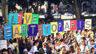 "Los Angeles climate change action: ""Our planet, our health!"""