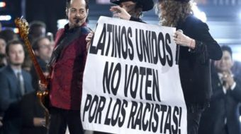 Latin Grammy Awards: Don't vote for racists
