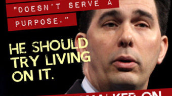 Walker says minimum wage serves no purpose