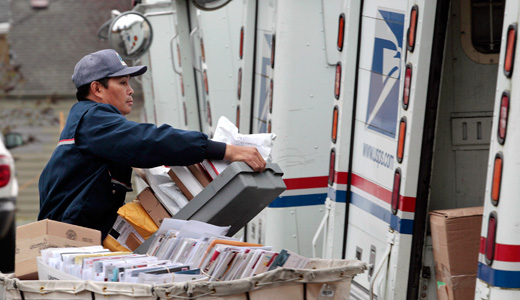 Outrage of day: Republicans vote to end door-to-door mail delivery