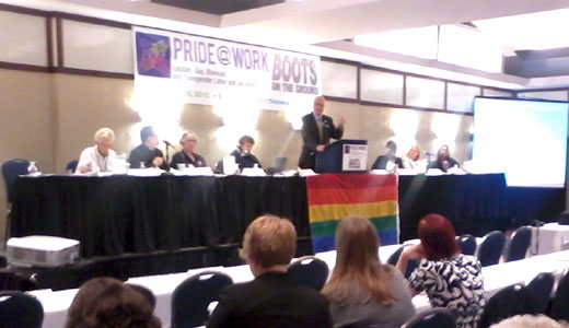 """Pride at Work puts """"Boots on the Ground"""""""