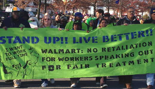 Walmart workers strike on Black Friday