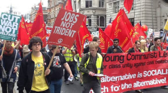 Hundreds of thousands march against austerity in Britain
