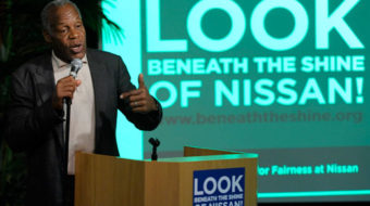 Danny Glover blasts worker intimidation at Nissan