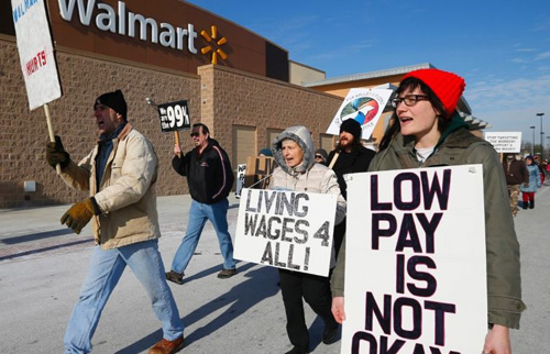 NLRB judge issues split decision in big Walmart case