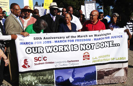 Video: 1963 civil rights march commemorated in L.A.