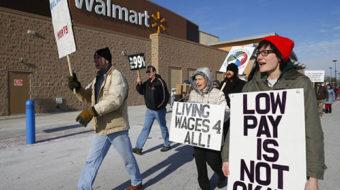 Walmart workers start to walk off job nationwide